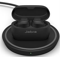 אוזניות ללא חוטים עם טעינה אלחוטית Jabra Elite 75t WLC True Wireless