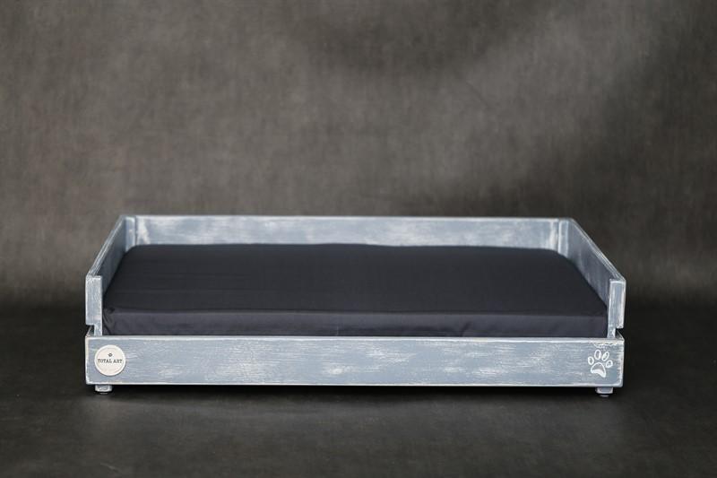 מיטה לכלב- דינגו XL אפור בטון