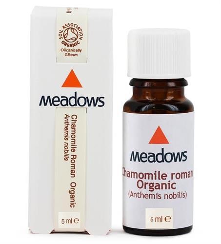 """שמן ארומתרפי קמומיל רומן 5 מ""""ל - Chamomile Roman Essential Oil 10cc"""
