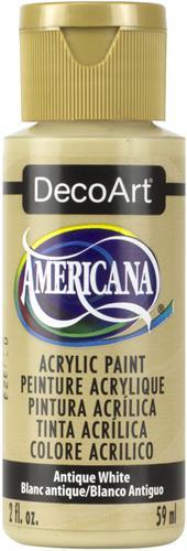 """צבע אמריקנה 59 מ""""ל Antique White DAO58"""