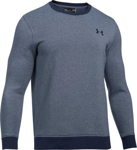 פוטר אנדר ארמור 1302852-410  Under Armour Men's Rival Fleece Fitted EOE Crew