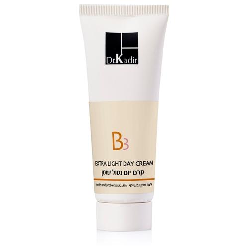 """ד""""ר כדיר B3 קרם יום נטול שומן לעור -Dr. Kadir B3 Extra Light Day Cream For Oily And Problematic Skin"""