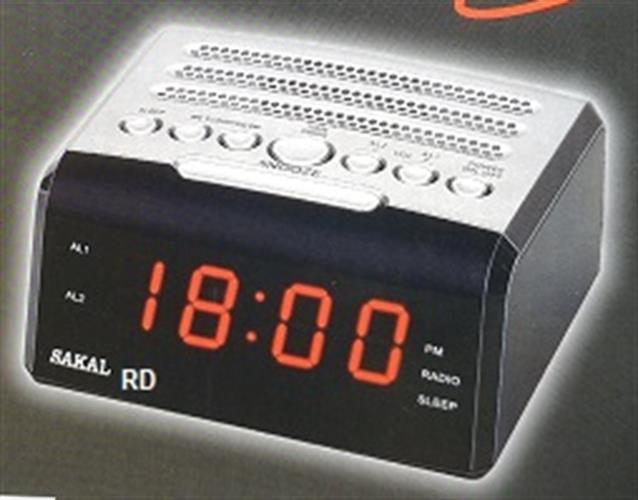 רדיו שעון מעורר SKL-621 עם USB