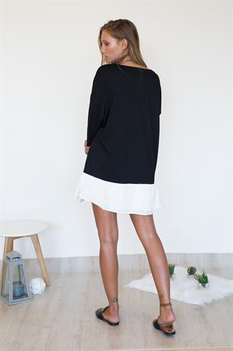 שמלת סקייטר שחור