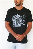 גרוגונה חולצת גברים קצרה בצבע שחור מהדורה מוגבלת!