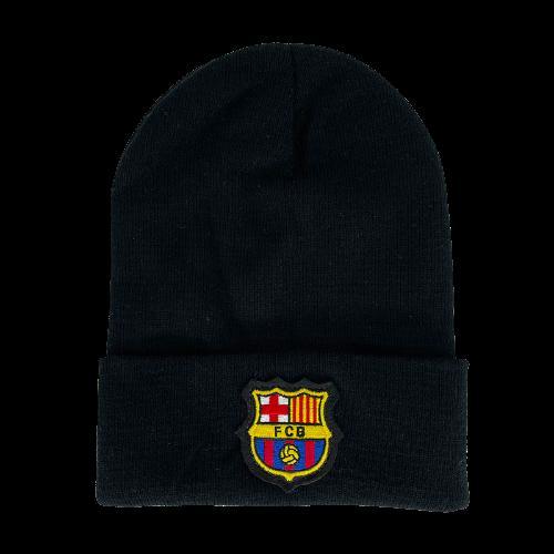כובע צמר שחור ברצלונה