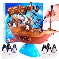 ספינת הפינגווינים - משחק איזון