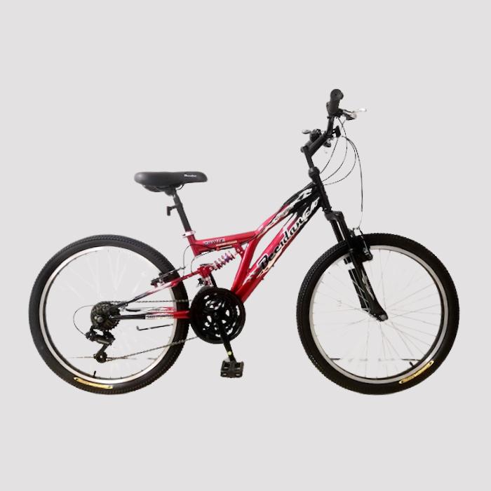 אופני הרים שיכוך מלא פלדת אל חלד