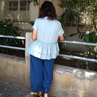 חולצת סאני תכלת שמיים