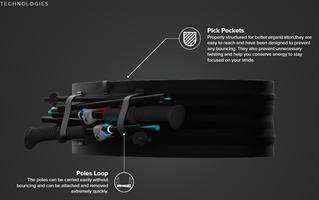 חגורת ריצה PRO צבע שחור