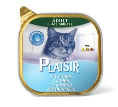פלז'יר מעדן לחתול - טונה 100גר`