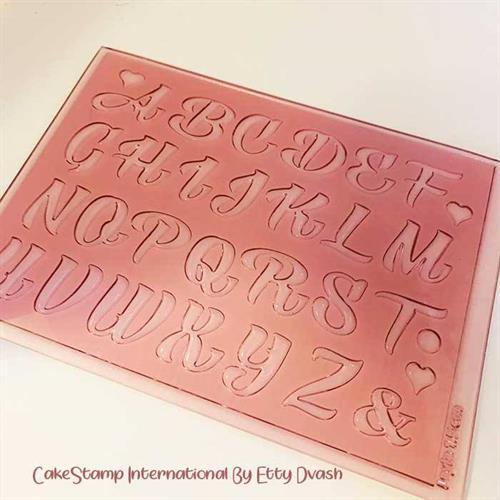 ALPHABET Letters Set 2 cm high