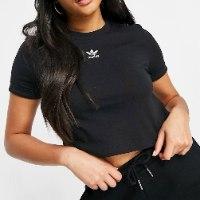 נשים   ADIDAS ADICOLOR CLASSICS ROLL-UP BLACK