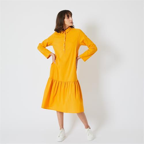 שמלת בייבי לי צהובה