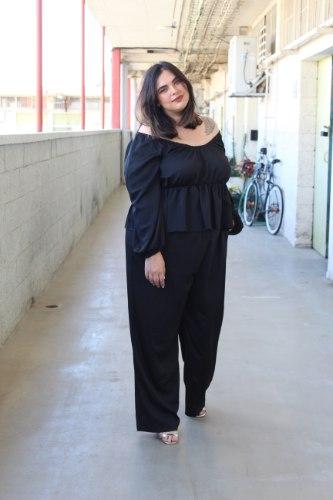 חליפת קואטרו שחור