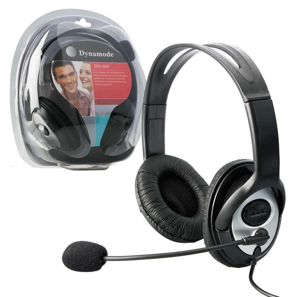 אוזניות מחשב סטריופוני  חיבור 3.5MM