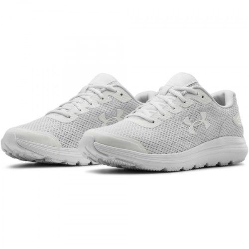 UNDER ARMOUR נעלי גברים צבע לבן מלא