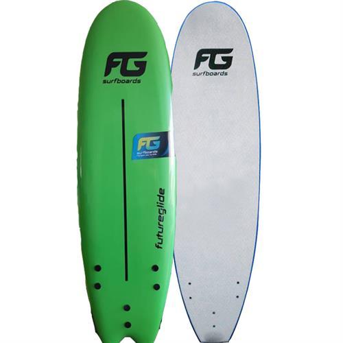 גלשן סופט בורד ירוק/לבן FutureGlide FG 5.8