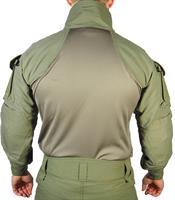חולצה מדי פשיטה ג  טקטי למפקד 2 כיסים מדי לחימה צבע ירוק זית דגם  Keela