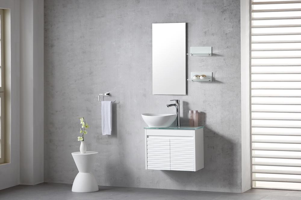 ארון אמבטיה תלוי מיני דגם אפולו וייב  APOLO WAVE