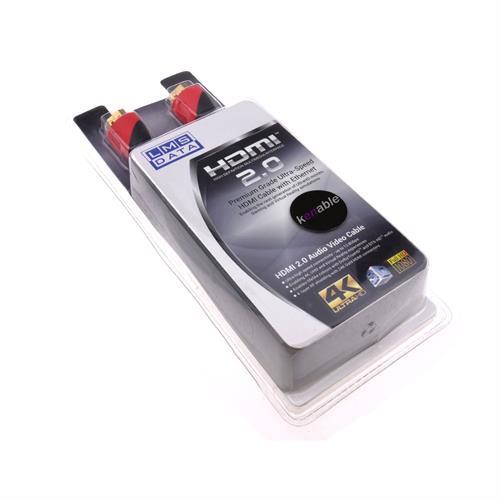 כבל HDMI לחיבור HDMI באורך 3 מטר LMS DATA בבליסטר