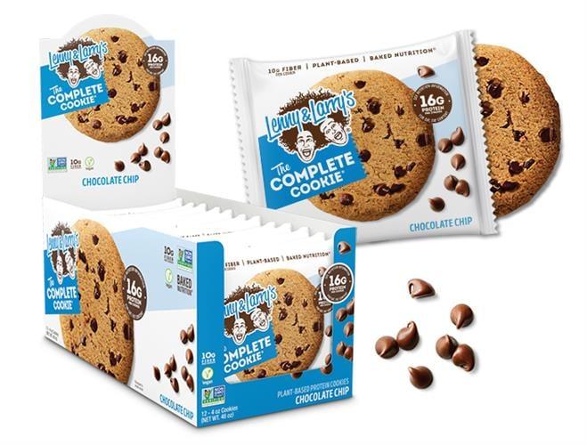 מארז 12 יח עוגיות חלבון lenny & larry's | כשר טבעוני