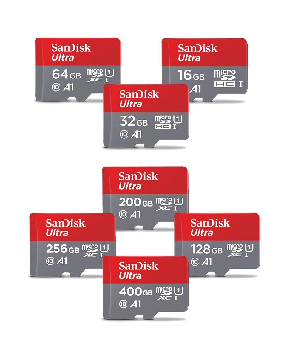 כרטיס זיכרון San Disk  המקורי + מתאם במתנה