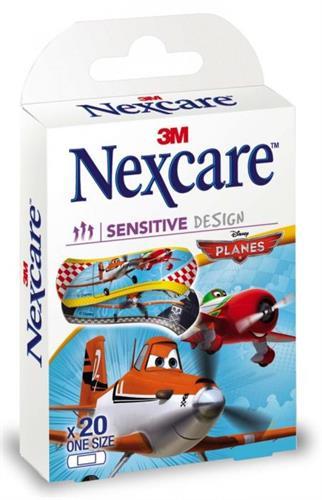 Nexcare פלסטר לילדים דיסני מטוסי על 20 יחידות