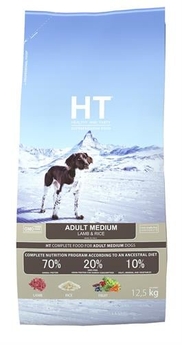 HT כבש ואורז 12.5 ק״ג לכלב בוגר