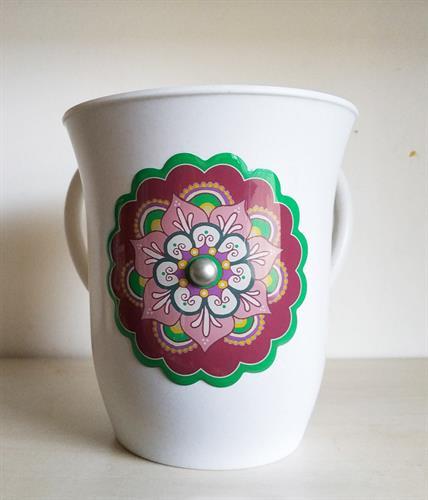 נטלה - דגם פרח סגול - דוגמא