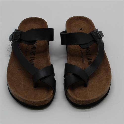 נעלי נוחות X אצבע שחור