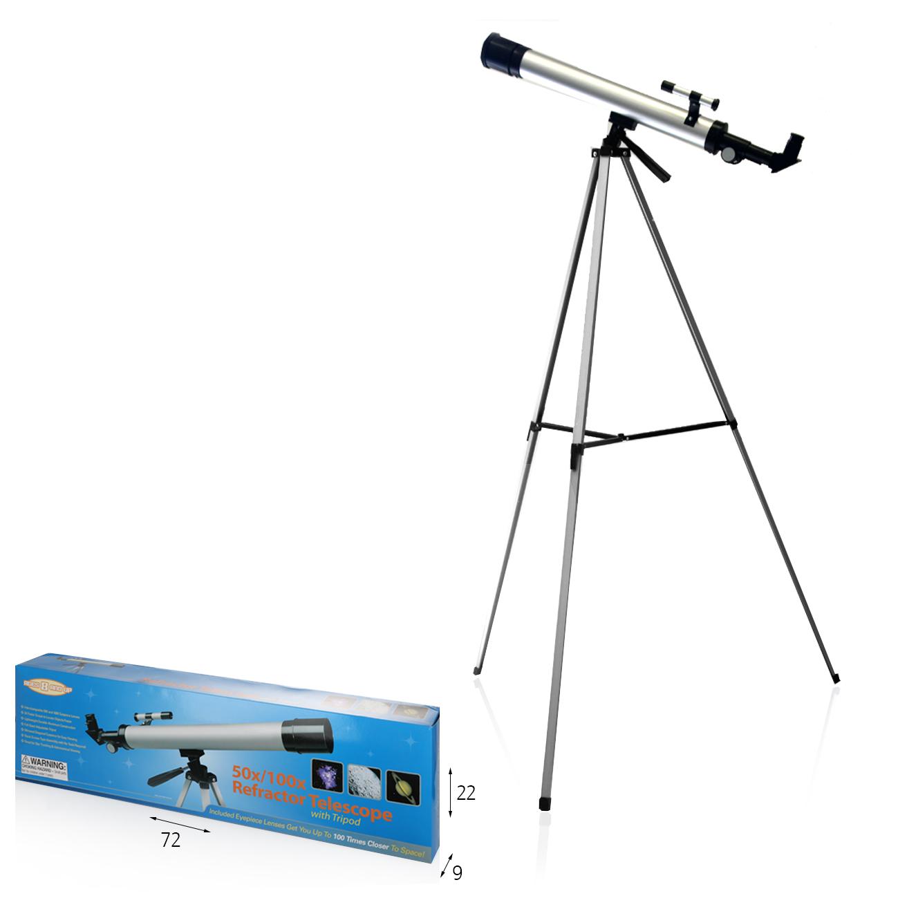 טלסקופ חצובה 1.25 מ'