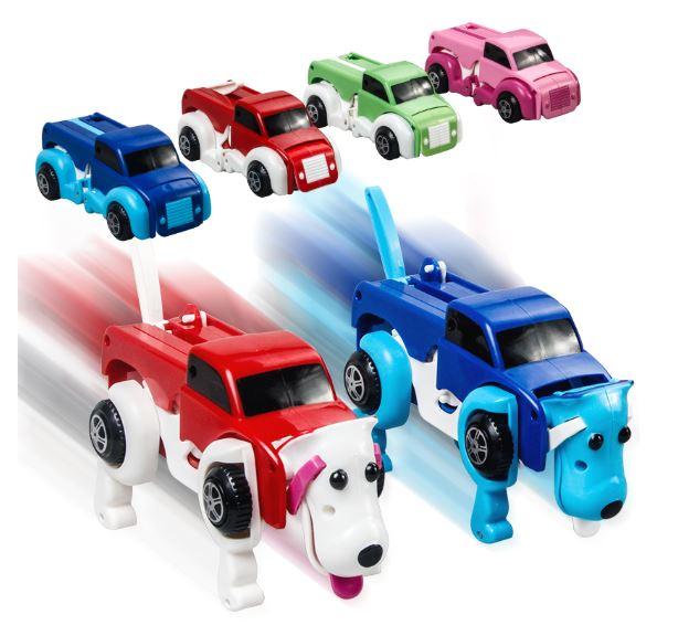 מכונית רובוטריק הופכת לכלב