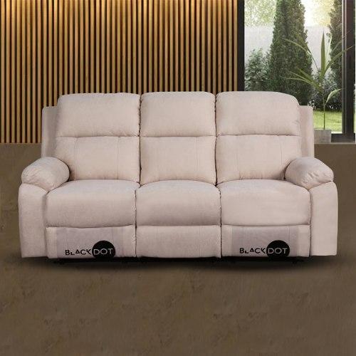 ספה 3 מושבים סיאסטה בד בז'