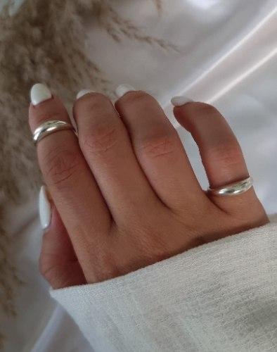 טבעת כסף טל