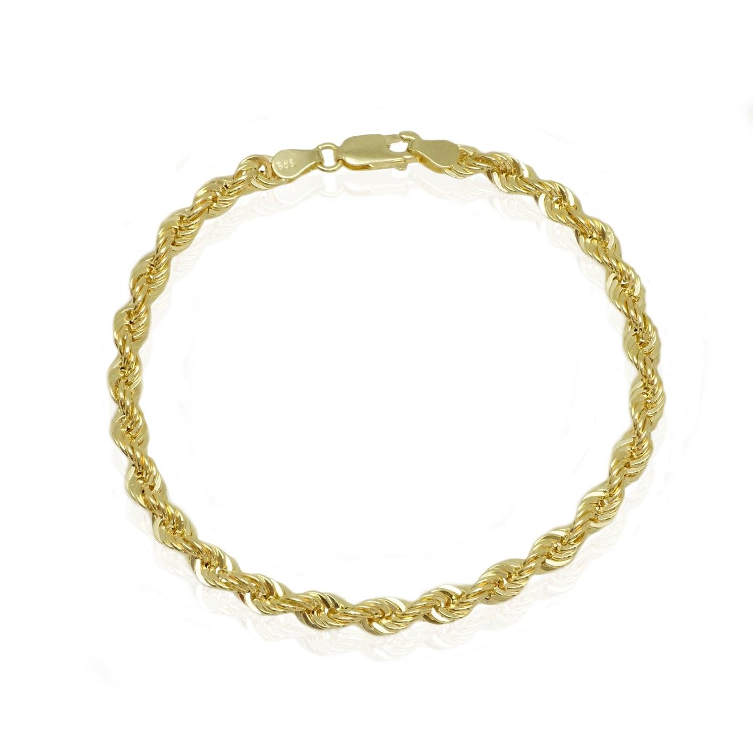 צמיד זהב בינוני גדול 14 קראט
