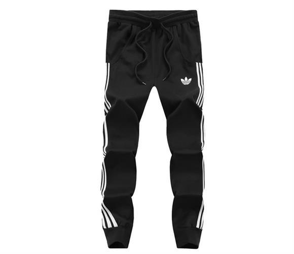 מכנסי ספורט כותנה Adidas גברים
