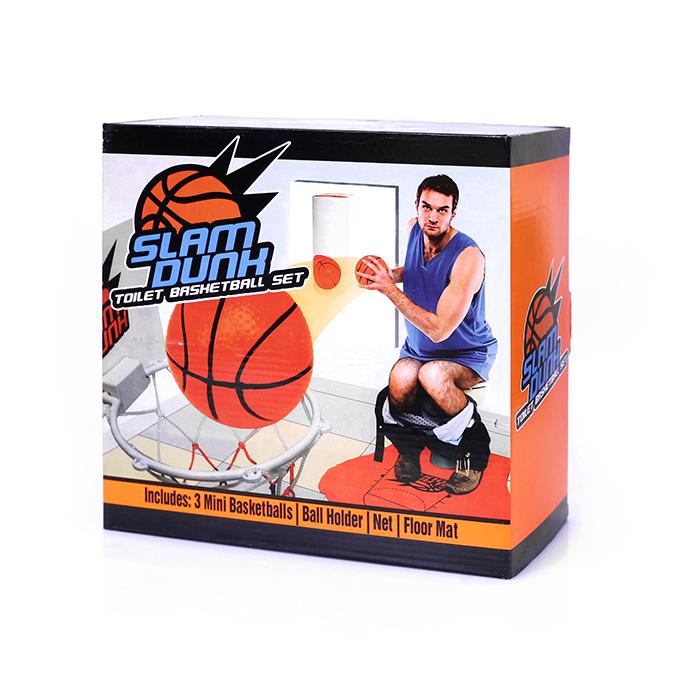 ערכת משחק כדורסל לשירותים