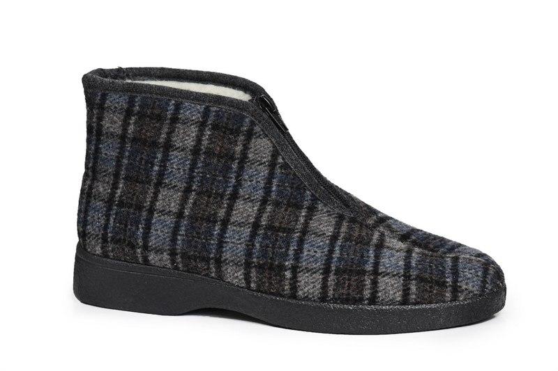 נעלי בית נוחות לגברים סגורות דגם - RO-6224L