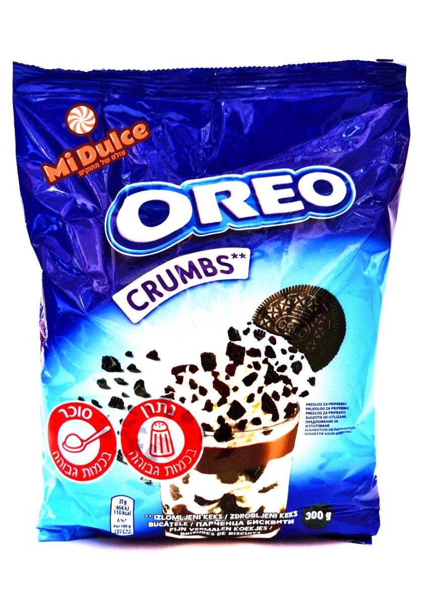Oreo Crumbs ,פירורי עוגיות אוראו!