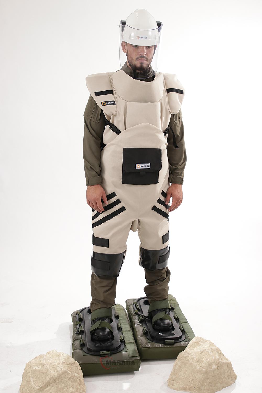 Eod Cortex Inflatable Mine Shoes Masada Armour
