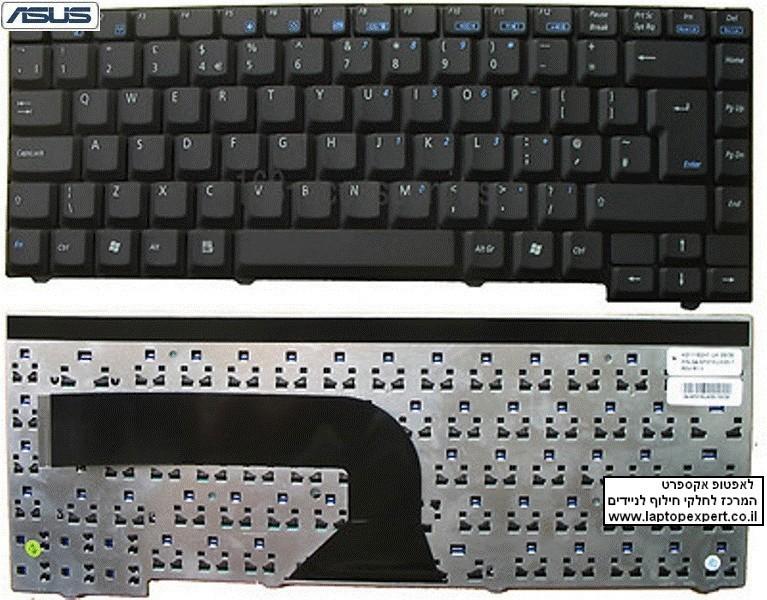 החלפת מקלדת למחשב נייד אסוס Asus X58L X58c X50C X50M X50N X50R X50RL X51 Keyboard V111462CS2 , 04GNX31KUS01-1
