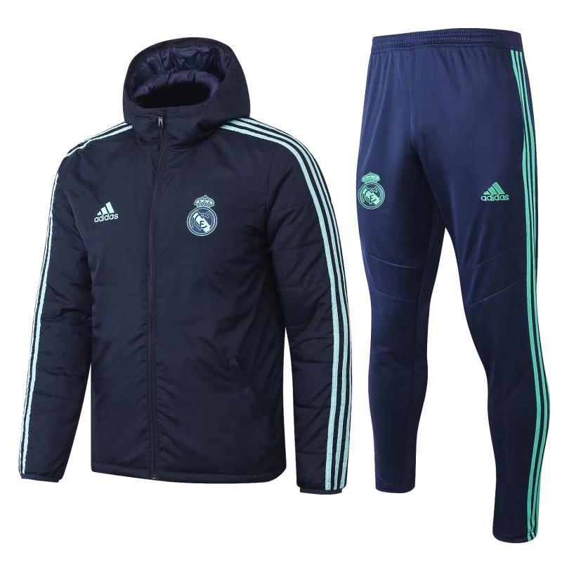מעיל ריאל מדריד כחול כולל מכנס