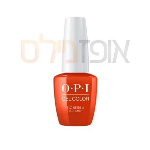 opi ג'ל צבע   SUZI NEEDS A LOCH-SMITH
