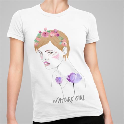 חולצת טי - Nature Girl