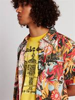 VOLCOM PSYCH FLORAL SS