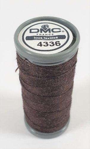 חוט תפירה DMC  - חום שחור - 200 מ'