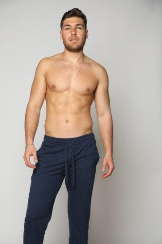 מכנס גבר ארוך חלק