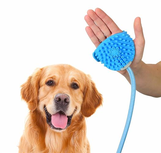 מכשיר עיסוי ומקלחת לכלב