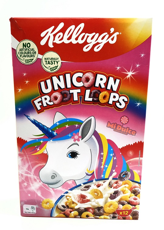 Froot Loops Unicorn Cereal